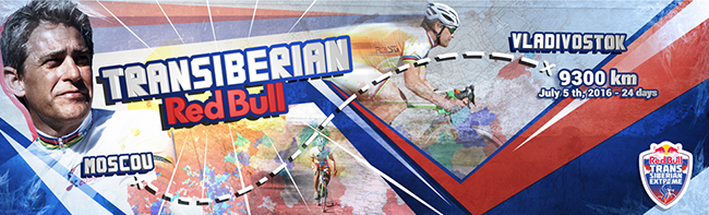 Nexway™ supports Champion Pascal Pich (France) for the Red Bull Tran-Siberian Extreme Ultra-Stage Cycling Race