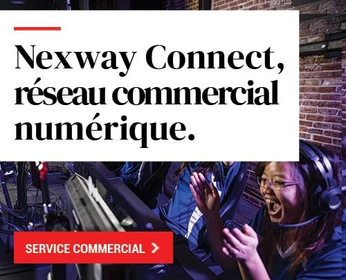 Nexway Connect, réseau commercial numérique.