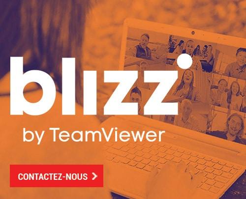 Cas client - blizz de TeamViewer