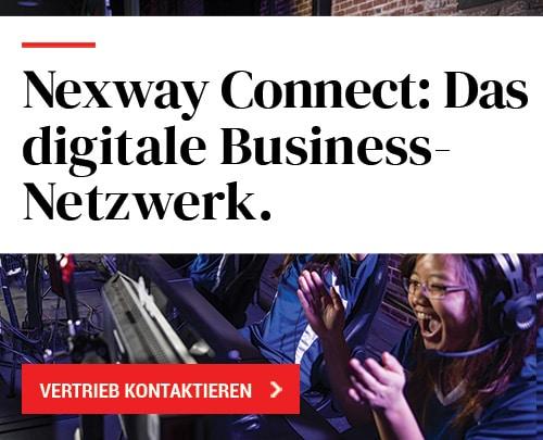 Nexway Connect: Das digitales Business-Netzwerk.