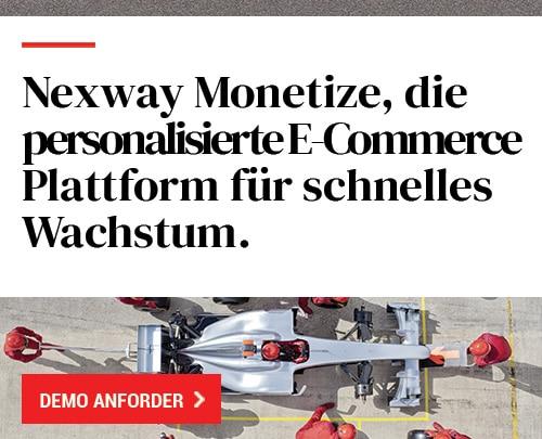 Nexway Monetize, die personalisierte E-Commerce Plattform für schnelles Wachstum.
