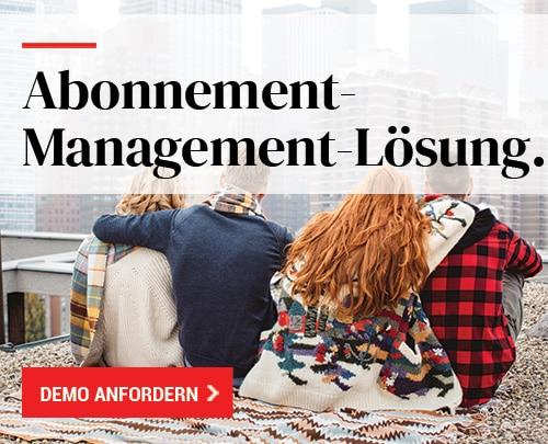Abonnement-Management-Lösung
