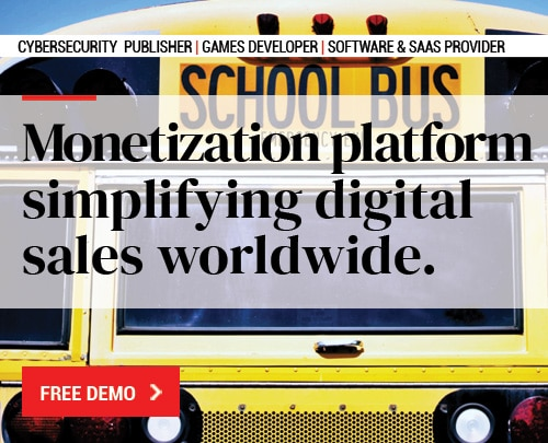 Monetization platform simplifying digital sales worldwide.